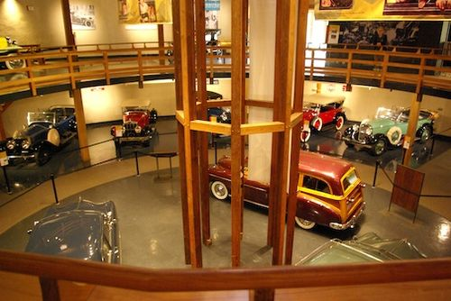 Car Museum inteior