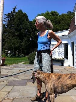 Lindsay & greyhhound