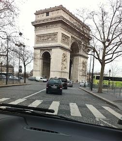 Paris Arc de Triumph