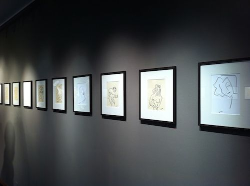 Drawings on wall 2
