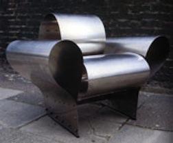 Chair bent steel