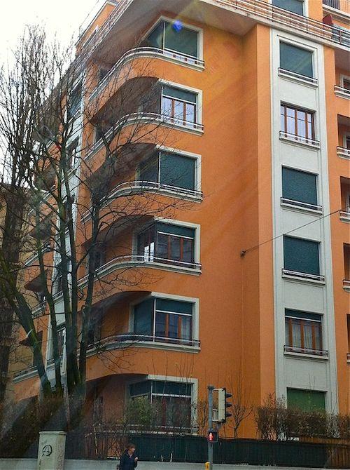 Round corner modern orange