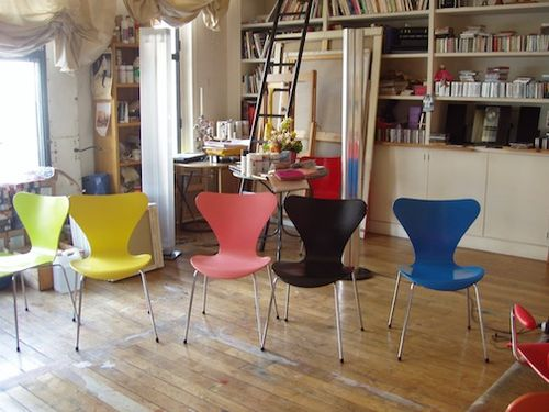Paris studio chairs