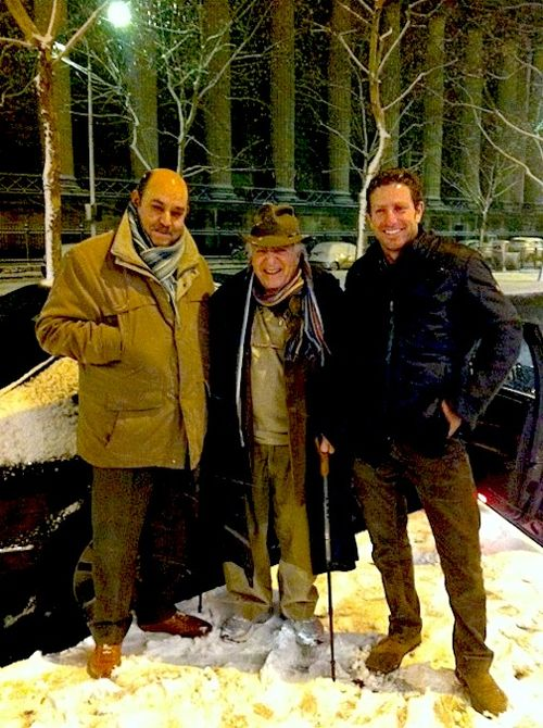 MUSTAFA, ILLYA I IN SNOW