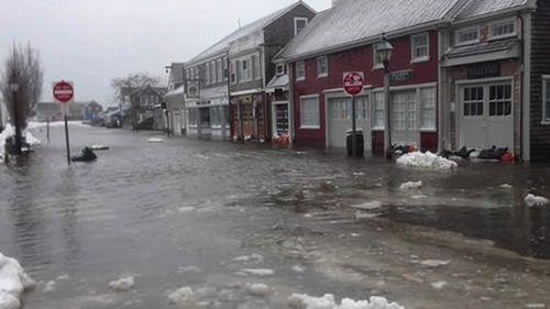 Main St flood