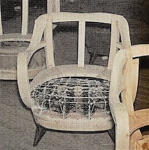 100A chair frame