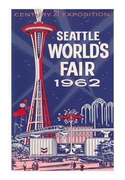 Space-needle-seattle-worlds-fair Poster