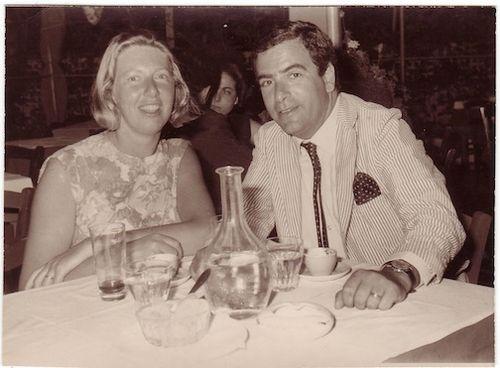 Erica & Vladi Honeymoon   1957                              S.S. New Amsterdam