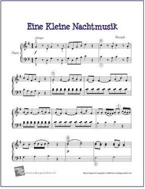 Eine-kleine-nachtmusik-piano-solo
