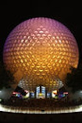 EPCOT DOME NIGHT