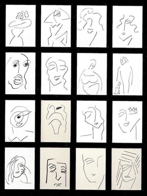 Tanya line drawings