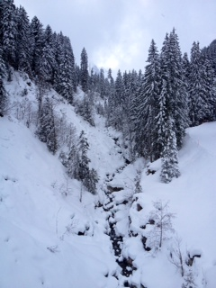 Photo gstaad gulley