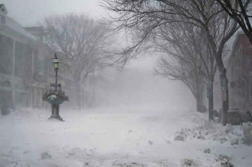 Main Street in Blizzard