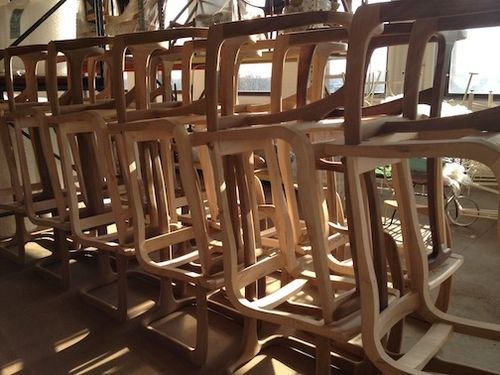 Stored chair frames 2