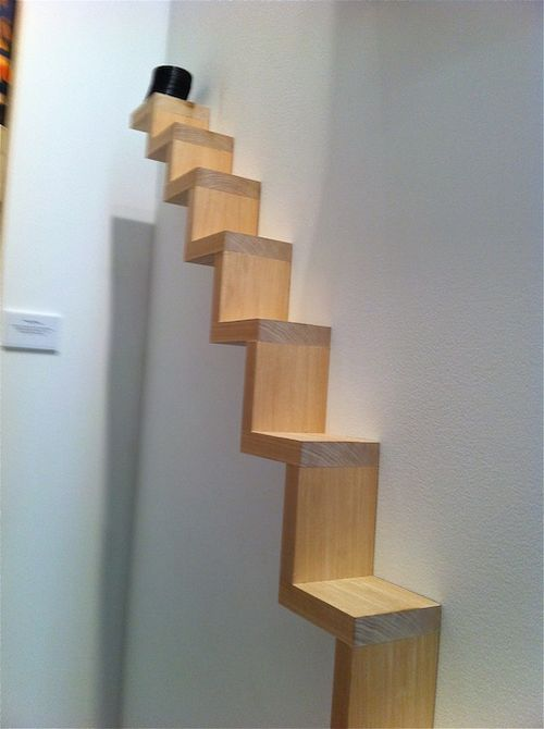 STAIRS WITH SLINKY