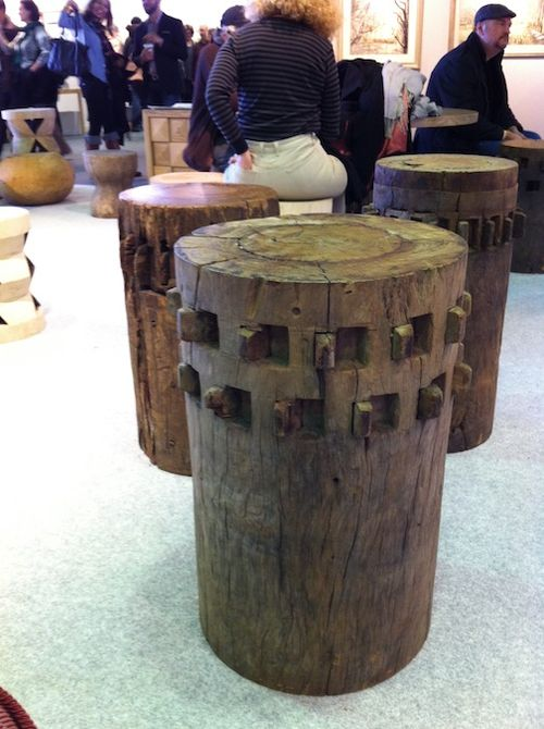 STOOL AFRICAN