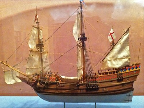 Jamestown ship model 7