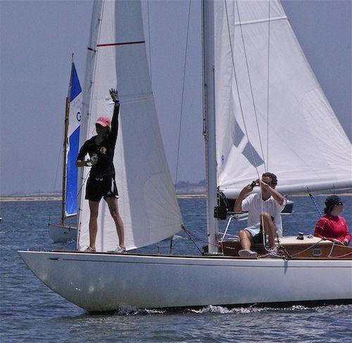 Burgie's boat w:Vanessa