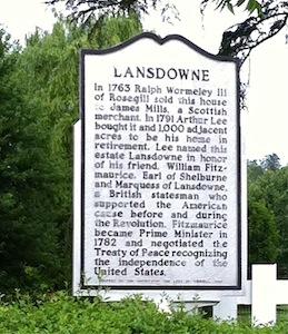 West port lansdowne sign 2