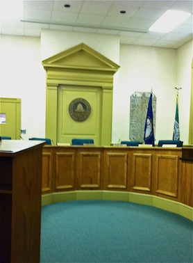 GLOUCESTER COURTHOUSE INTERIOR