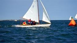 Sailing racinf mark 3.5