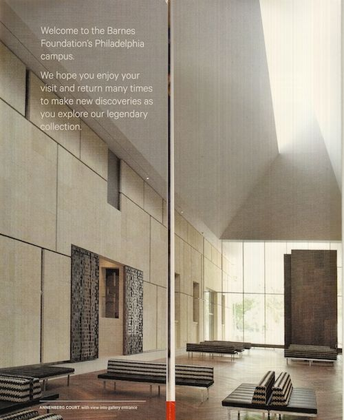 Barnes Foundation - lobby 7