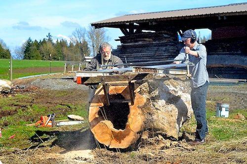Cutting log 7