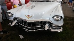 CADDY WHITE GRILL 3.5