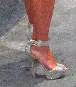 Shoes silver +