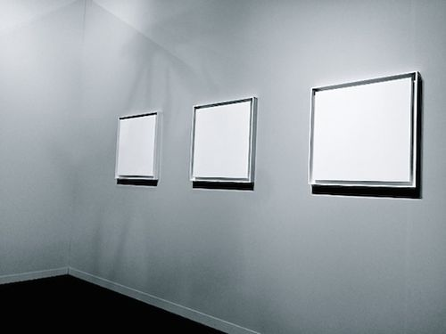 WHITE 3 PAINTINGS 7