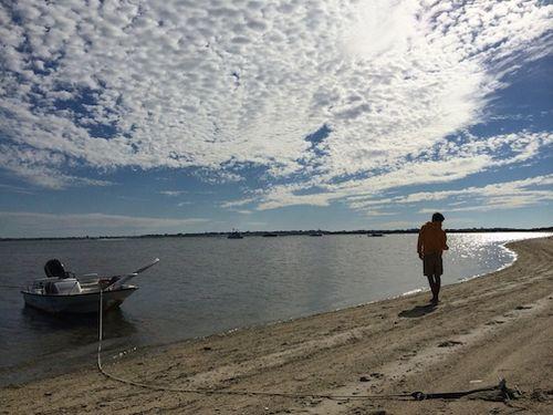 Chris on beach 7