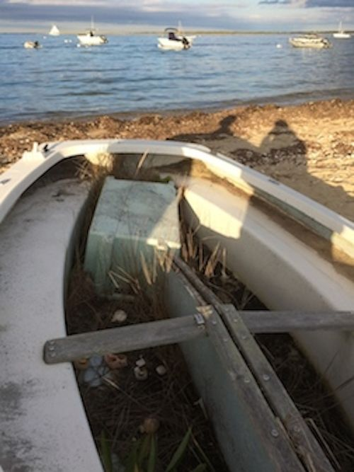 Boat on sand 7