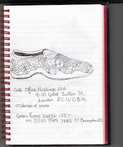 Drawing shoe 3.5
