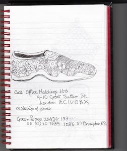 Drawing shoe 3.5