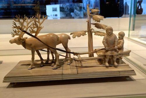 MUSEUM ESKIMO CARVING 7