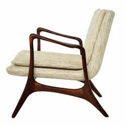 Vk sculptural lounge chair $9,500 Modern Drama