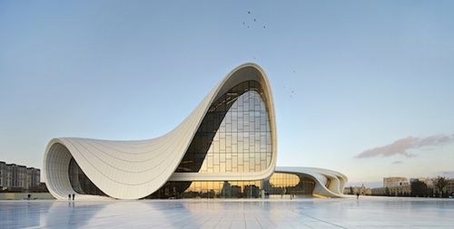 2013_Heydar Aliyev Center, Baku_photo by Hufton+Crow