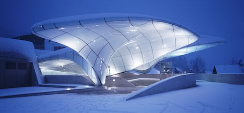 2007_Nordpark Railway Stations (Hungerburg Station)_Innsbruck_photo Werner Huthmacher